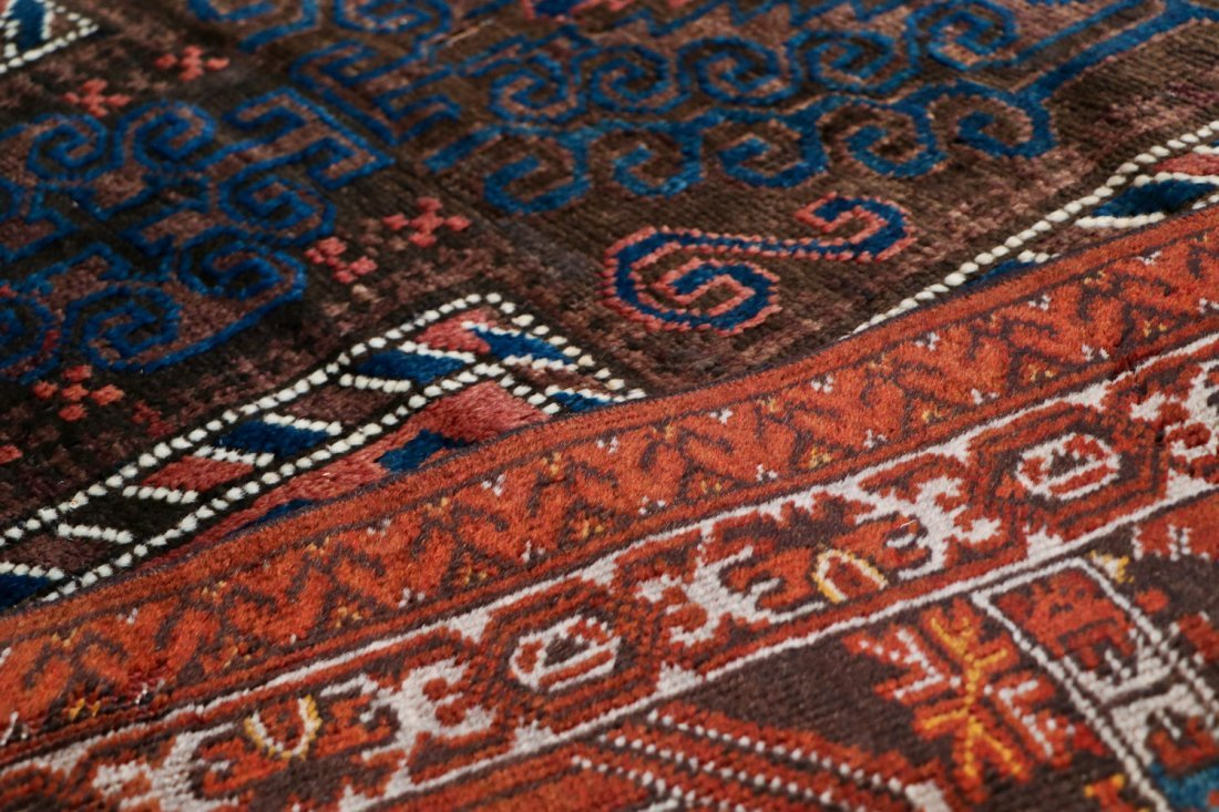 2 Semi-Antique Afghan and Beluch Prayer Rugs - 6