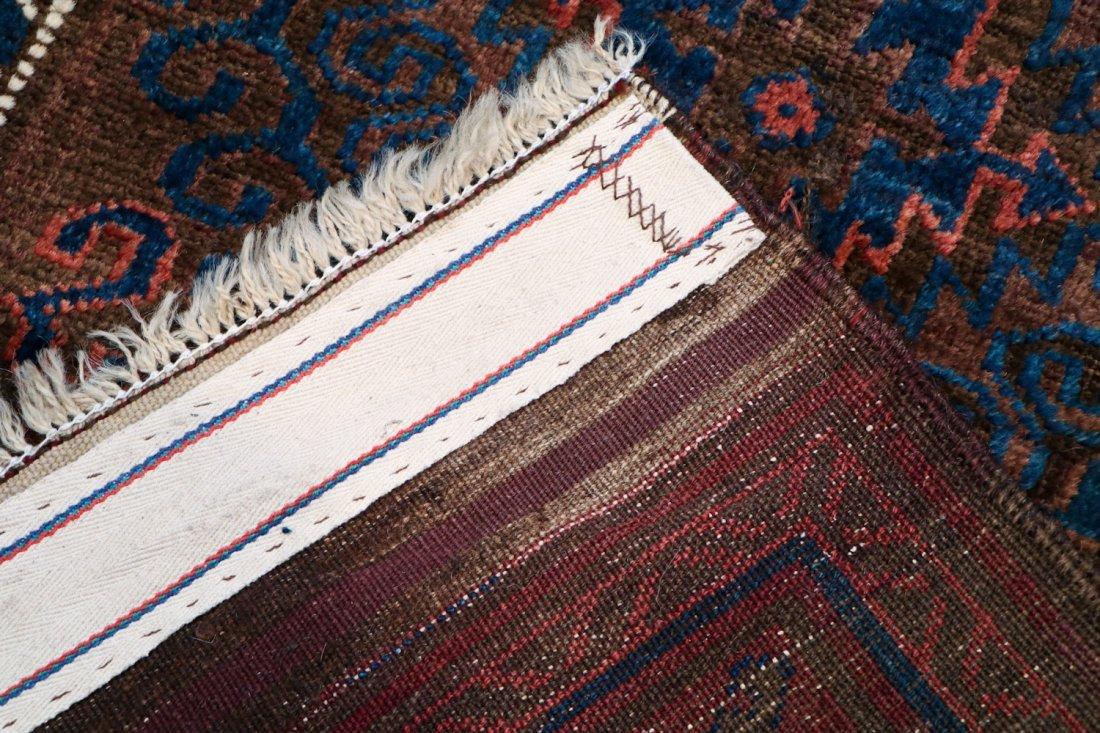2 Semi-Antique Afghan and Beluch Prayer Rugs - 9