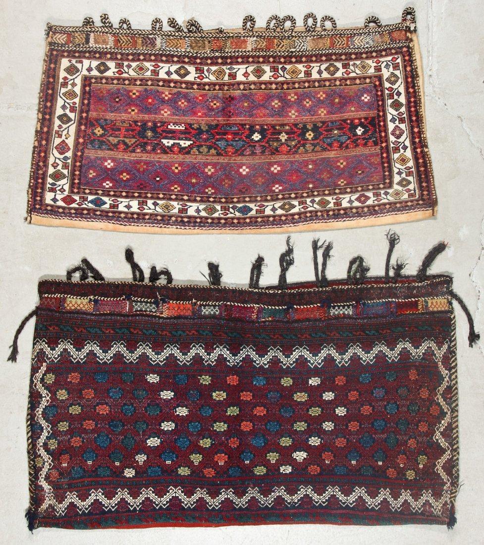 2 Semi-Antique West Persian Kilim/Sumak Bags