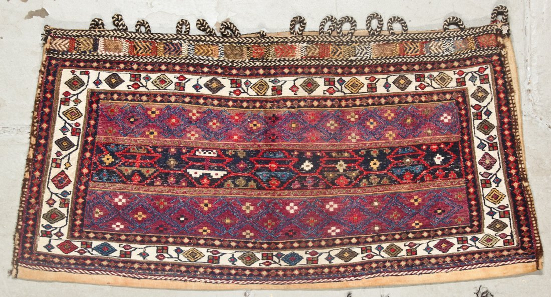 2 Semi-Antique West Persian Kilim/Sumak Bags - 2