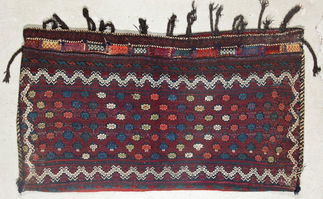2 Semi-Antique West Persian Kilim/Sumak Bags - 3