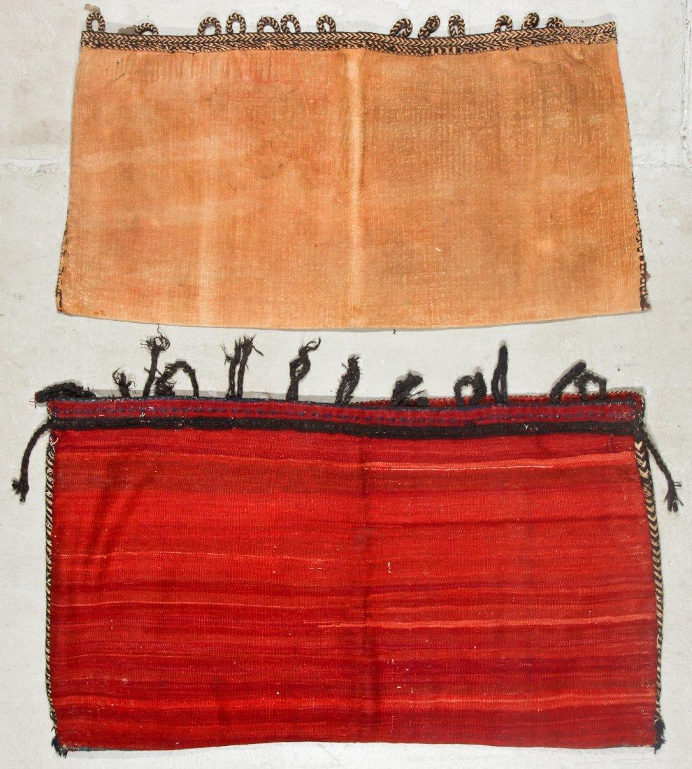 2 Semi-Antique West Persian Kilim/Sumak Bags - 5