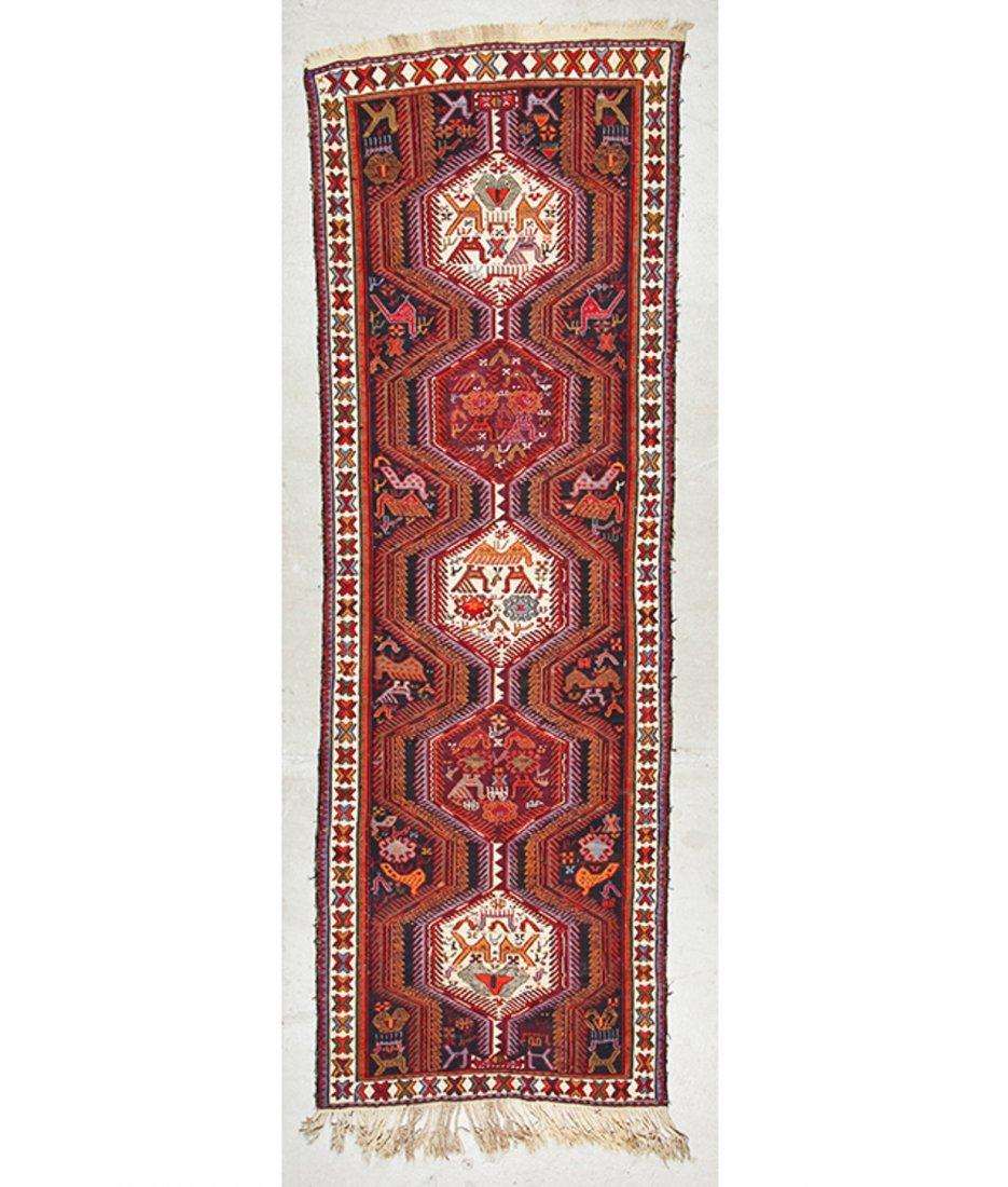 Vintage West Persian Sumak Rug