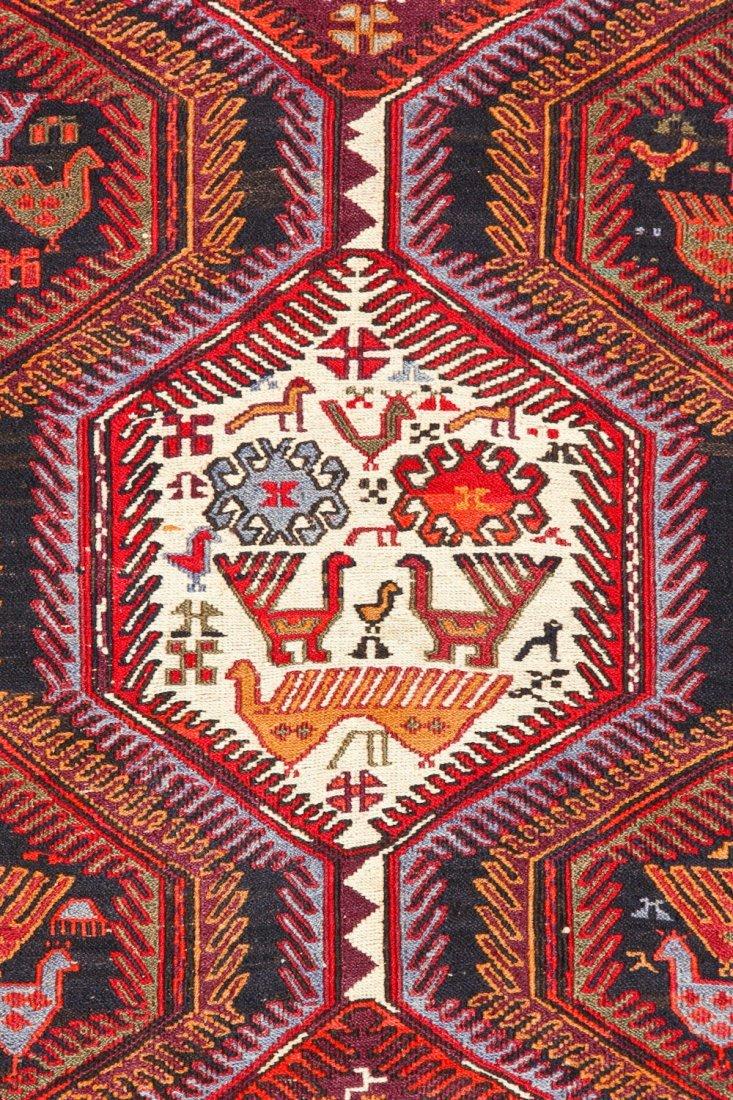 Vintage West Persian Sumak Rug - 2