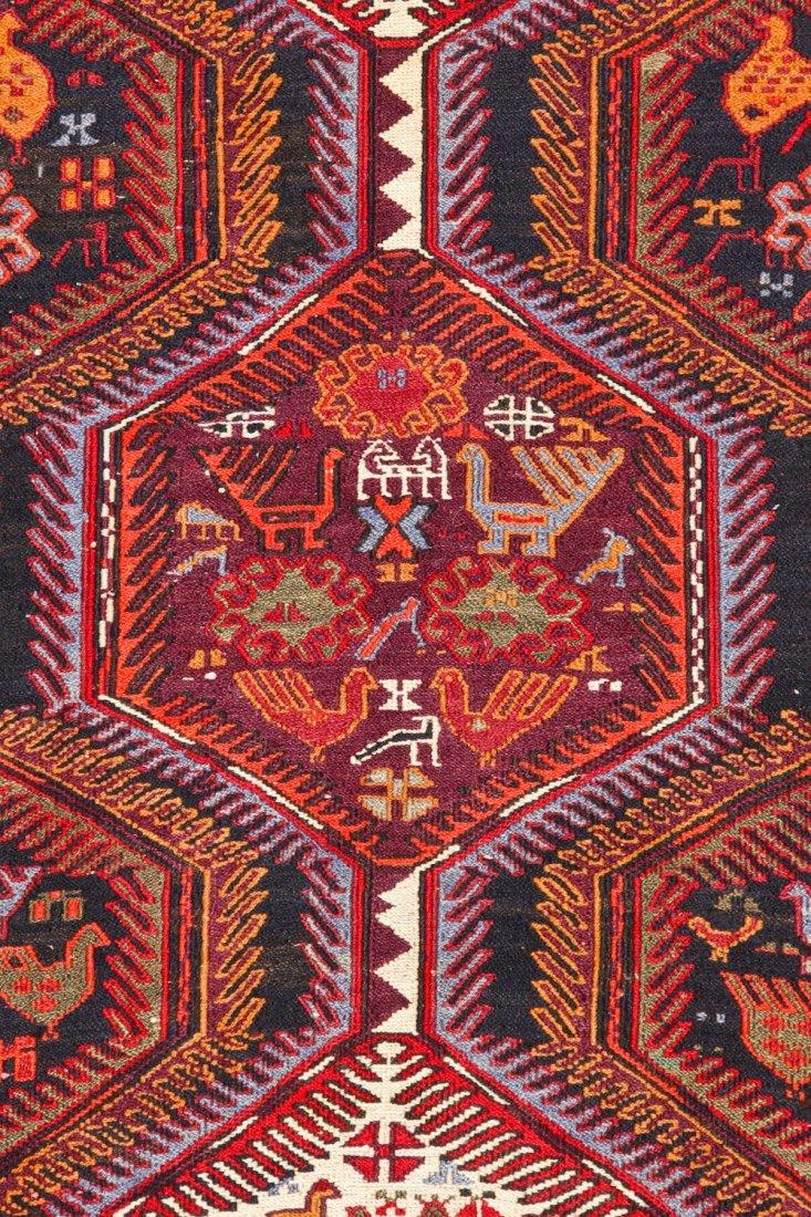 Vintage West Persian Sumak Rug - 3
