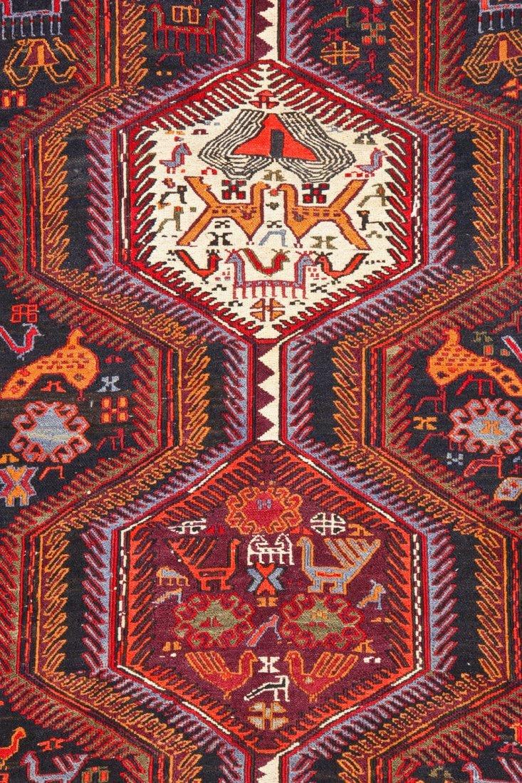 Vintage West Persian Sumak Rug - 4