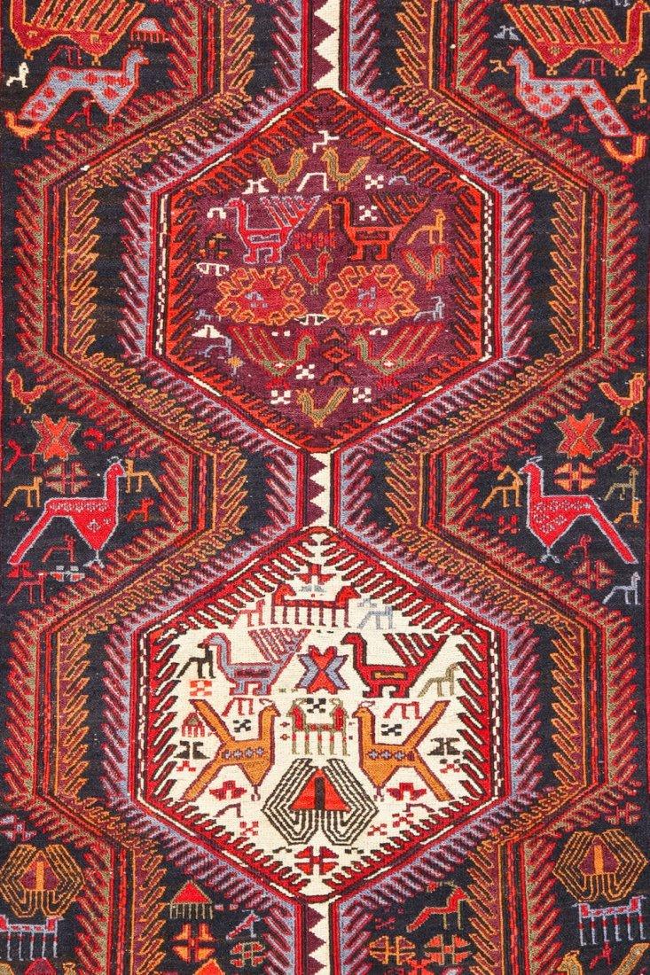 Vintage West Persian Sumak Rug - 5