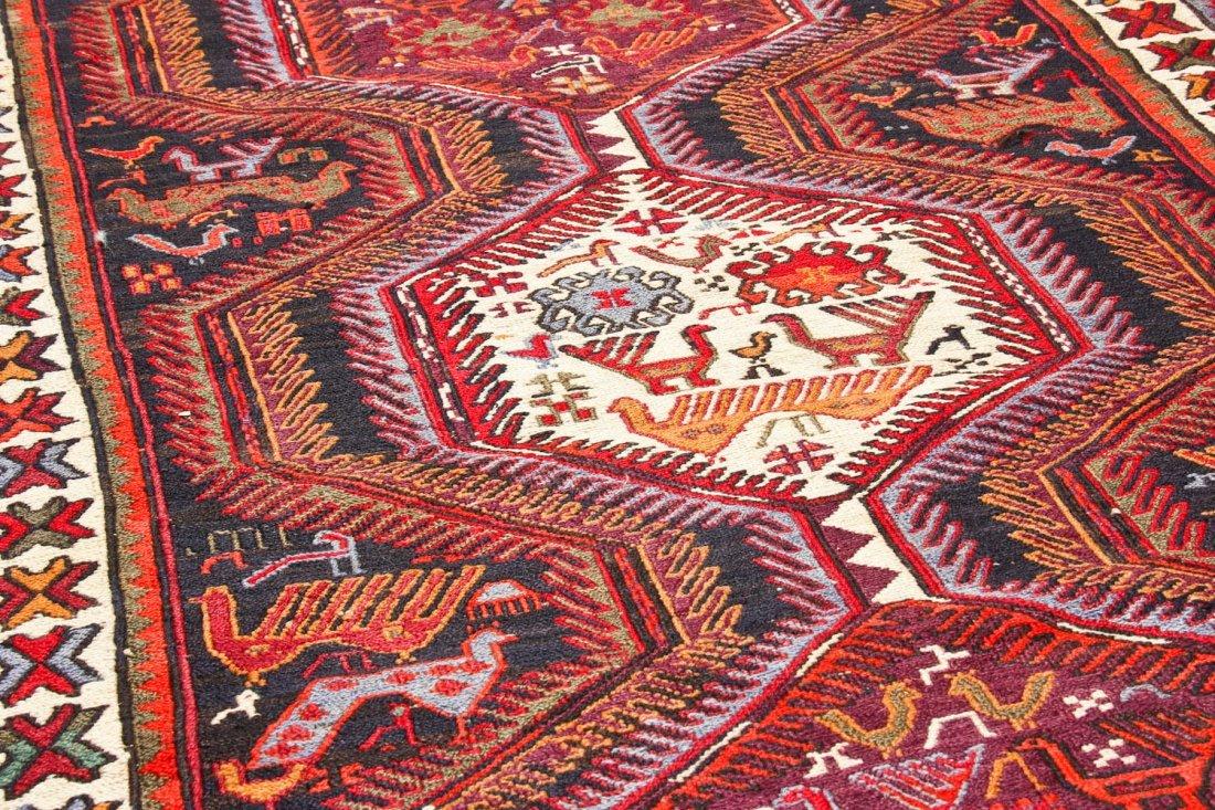Vintage West Persian Sumak Rug - 7