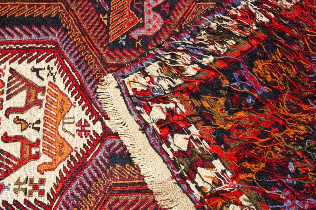 Vintage West Persian Sumak Rug - 8