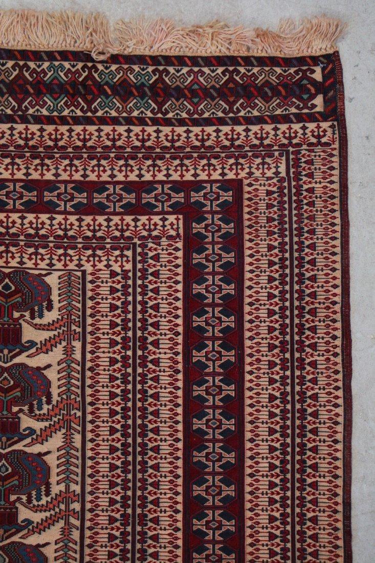 Vintage Sumak Rug: 6' x 4'3'' (183 x 130 cm) - 2