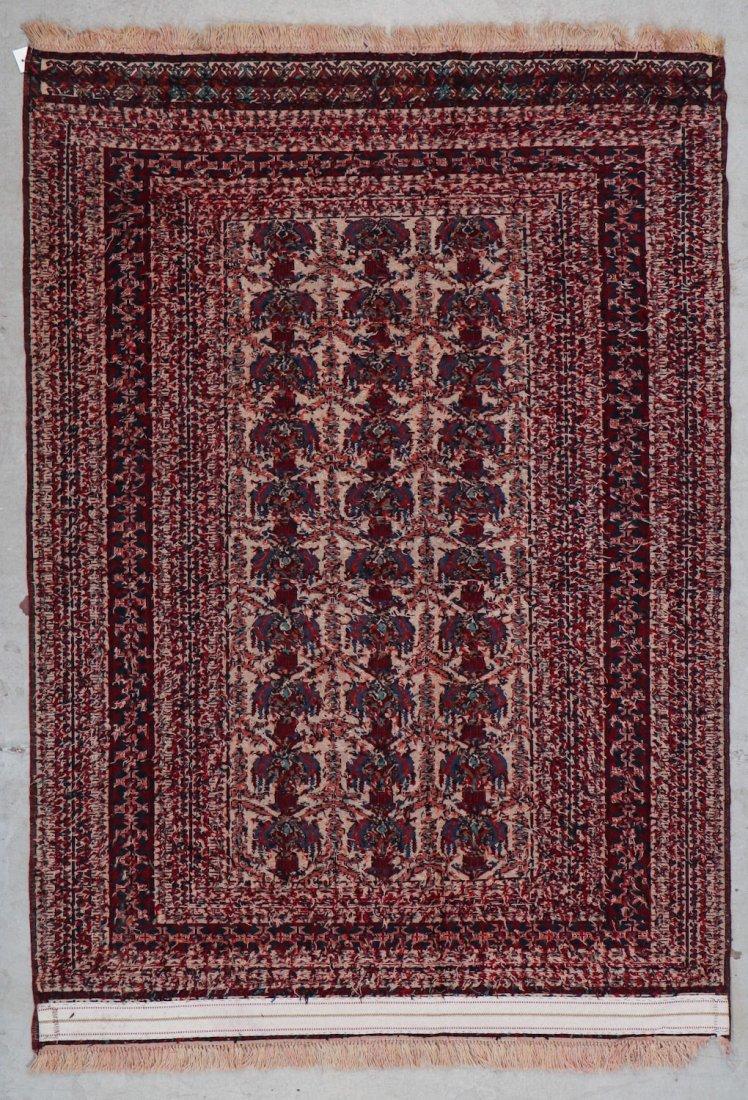 Vintage Sumak Rug: 6' x 4'3'' (183 x 130 cm) - 5