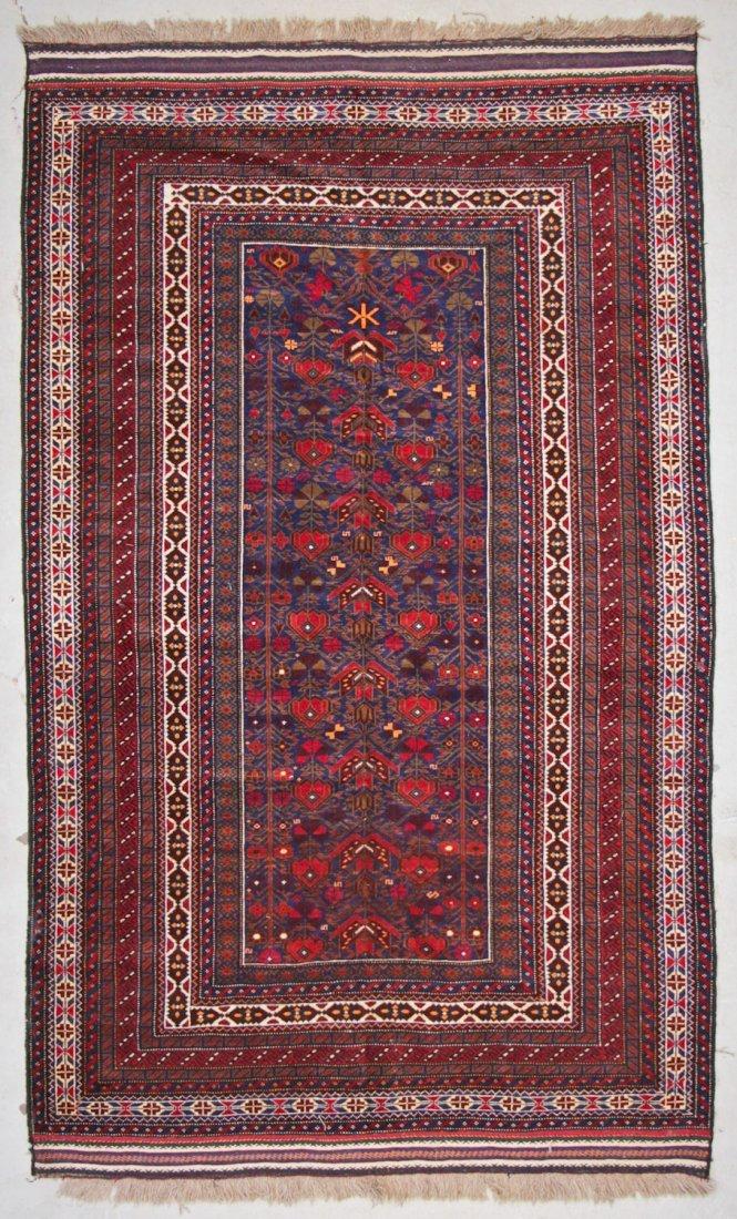Vintage Beluch Rug: 5'5'' x 8'5'' (165 x 257 cm)