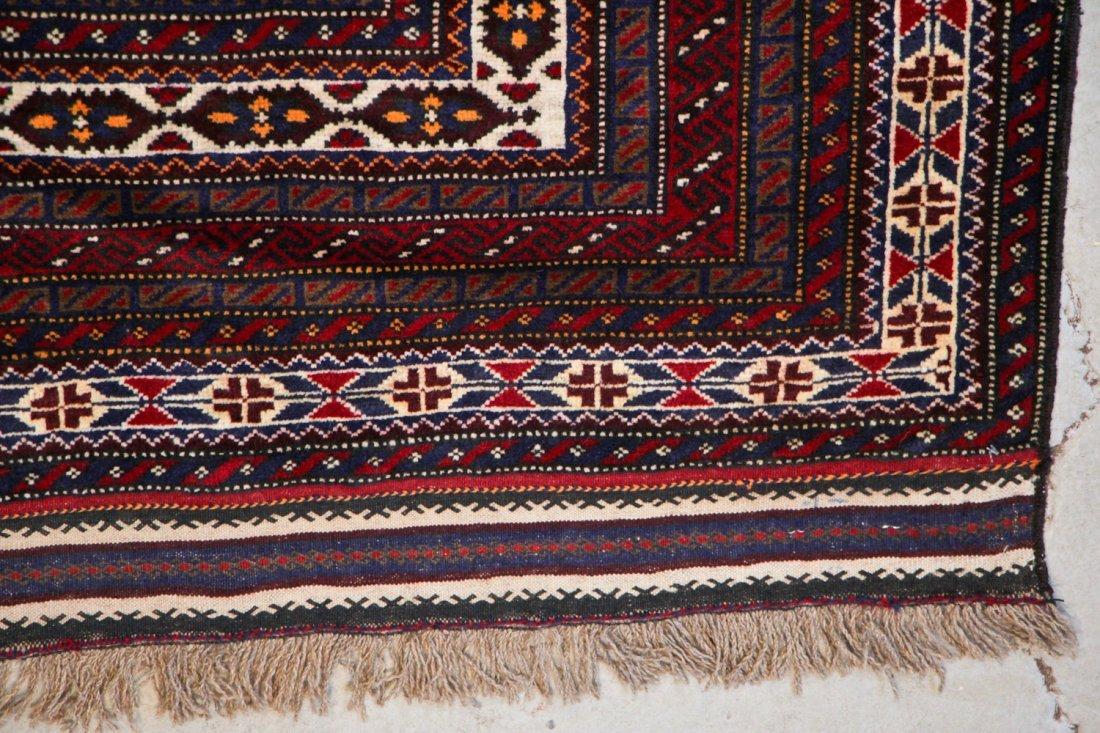 Vintage Beluch Rug: 5'5'' x 8'5'' (165 x 257 cm) - 2