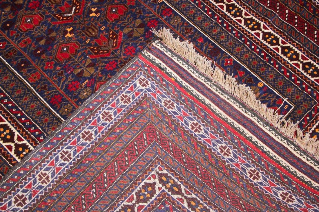 Vintage Beluch Rug: 5'5'' x 8'5'' (165 x 257 cm) - 4