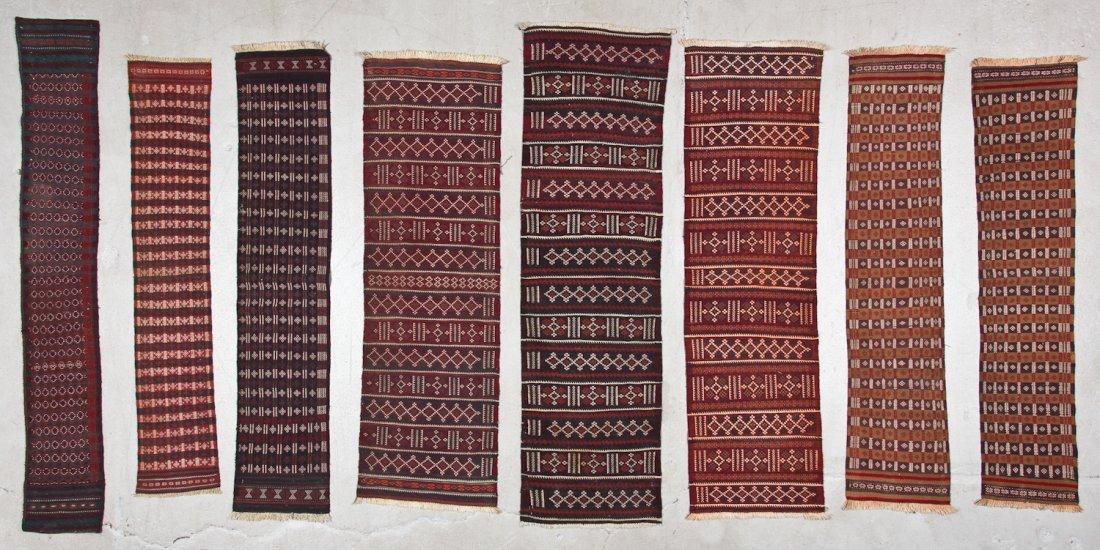 15 Semi-Antique Central Asian Kilims - 2