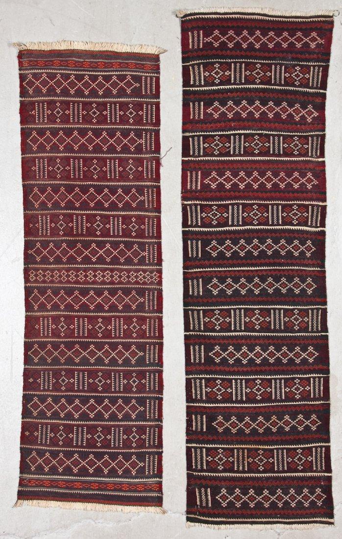 15 Semi-Antique Central Asian Kilims - 4