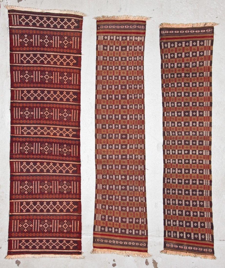 15 Semi-Antique Central Asian Kilims - 5