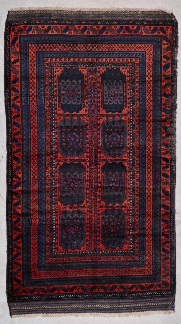 3 Vintage/Semi-Antique Beluch Rugs, Afghanistan - 7
