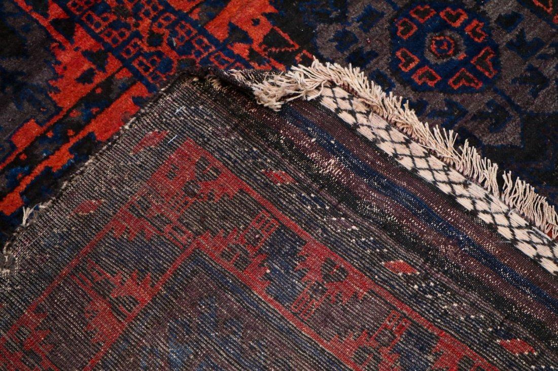 3 Vintage/Semi-Antique Beluch Rugs, Afghanistan - 8