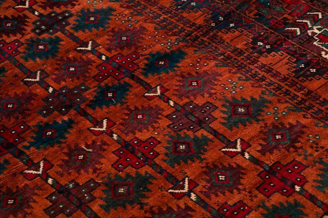 2 Antique Afghan Beluch Rugs - 3