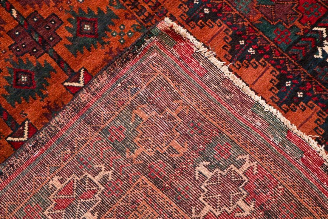 2 Antique Afghan Beluch Rugs - 4