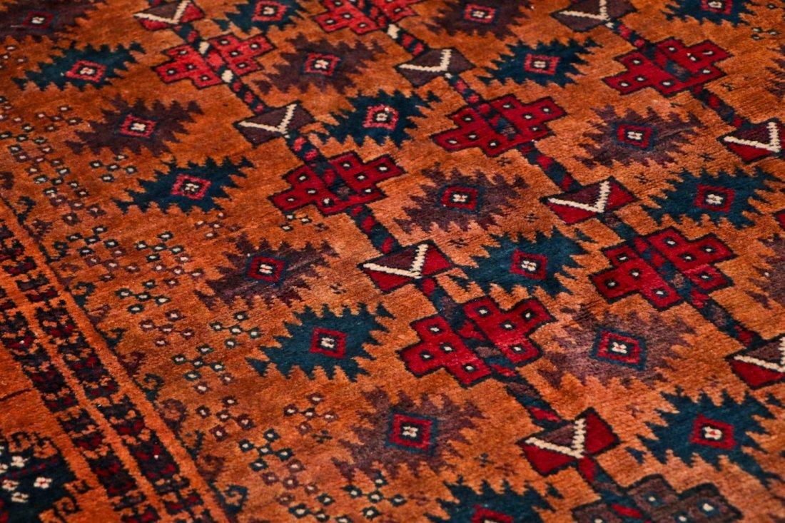 2 Antique Afghan Beluch Rugs - 6