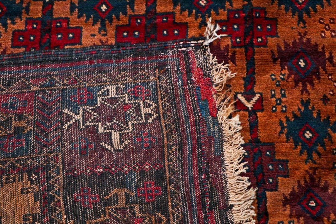 2 Antique Afghan Beluch Rugs - 7
