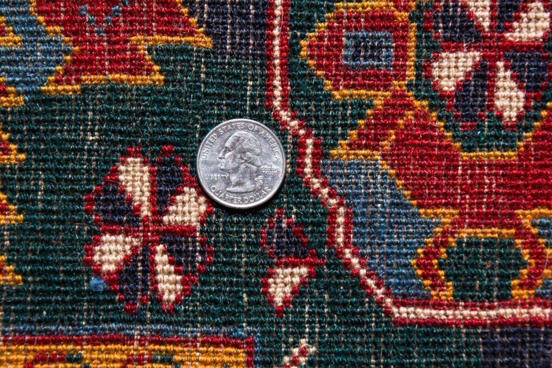 Vintage Afghan Rug: 11'11'' x 7'6'' (363 x 229 cm) - 5