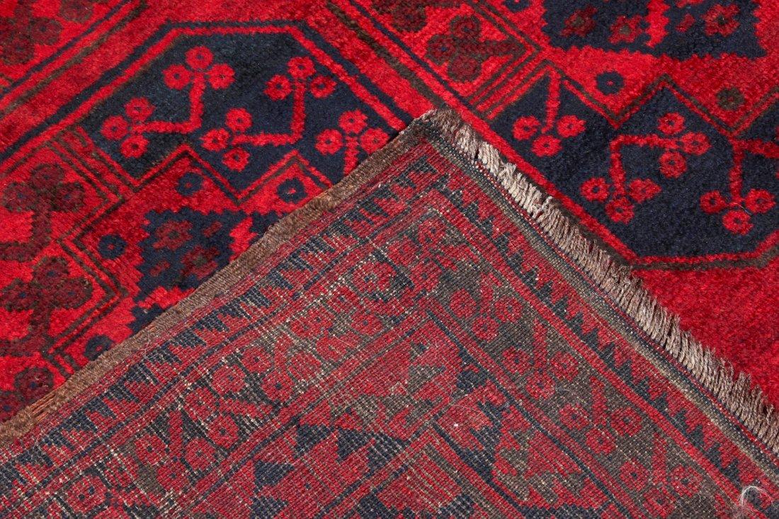 2 Semi-Antique Afghan Main Rugs - 4