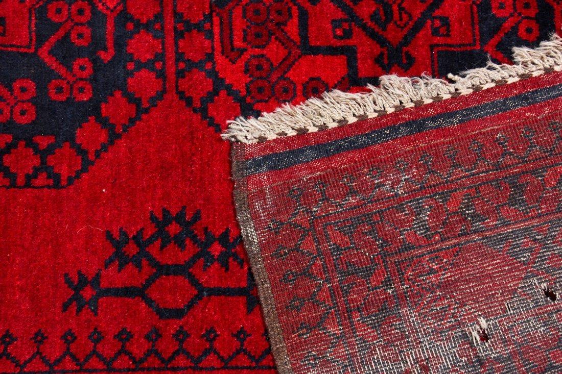 2 Semi-Antique Afghan Main Rugs - 8