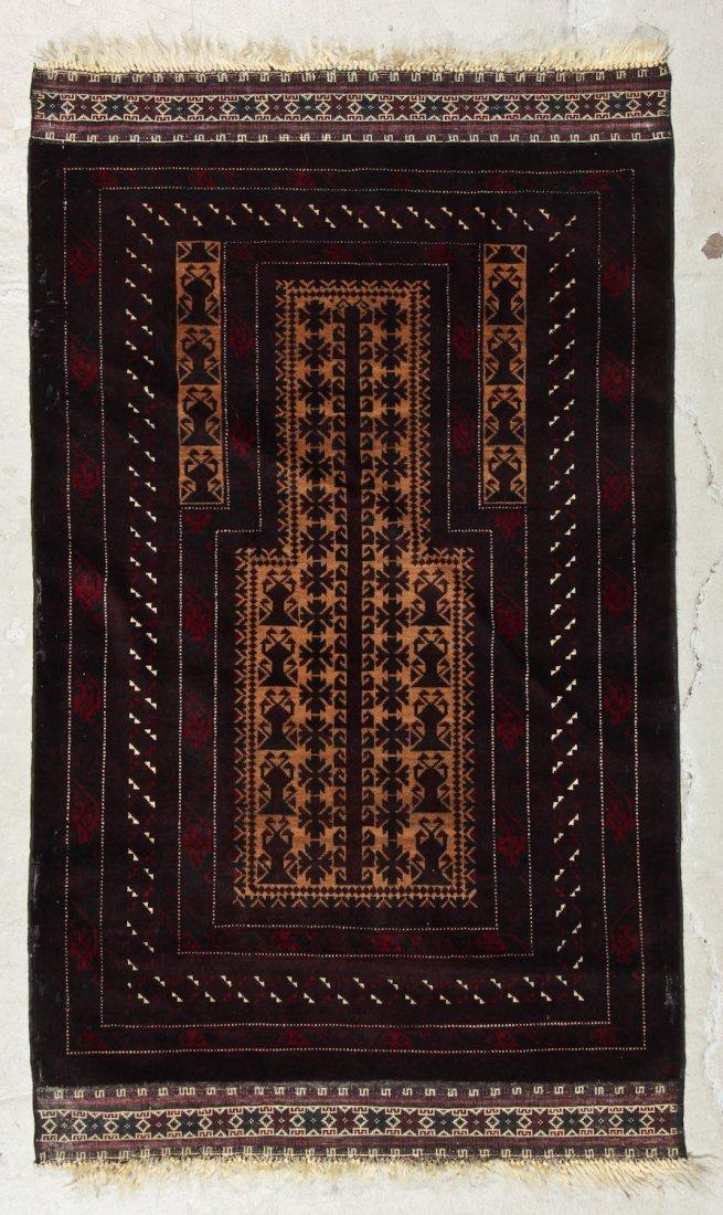 2 Vintage Beluch Prayer Rugs - 3
