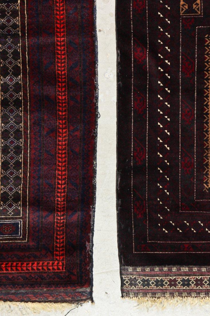 2 Vintage Beluch Prayer Rugs - 4