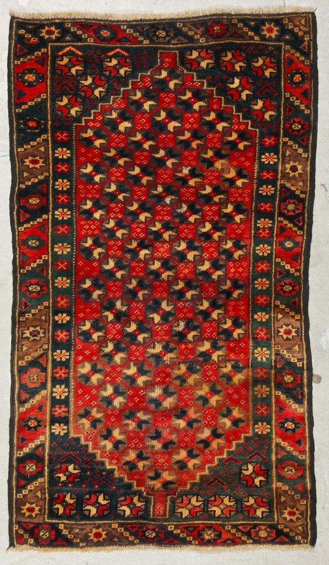 2 Vintage Turkish Village Rugs - 3