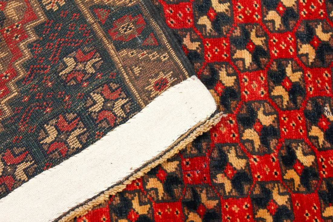 2 Vintage Turkish Village Rugs - 7