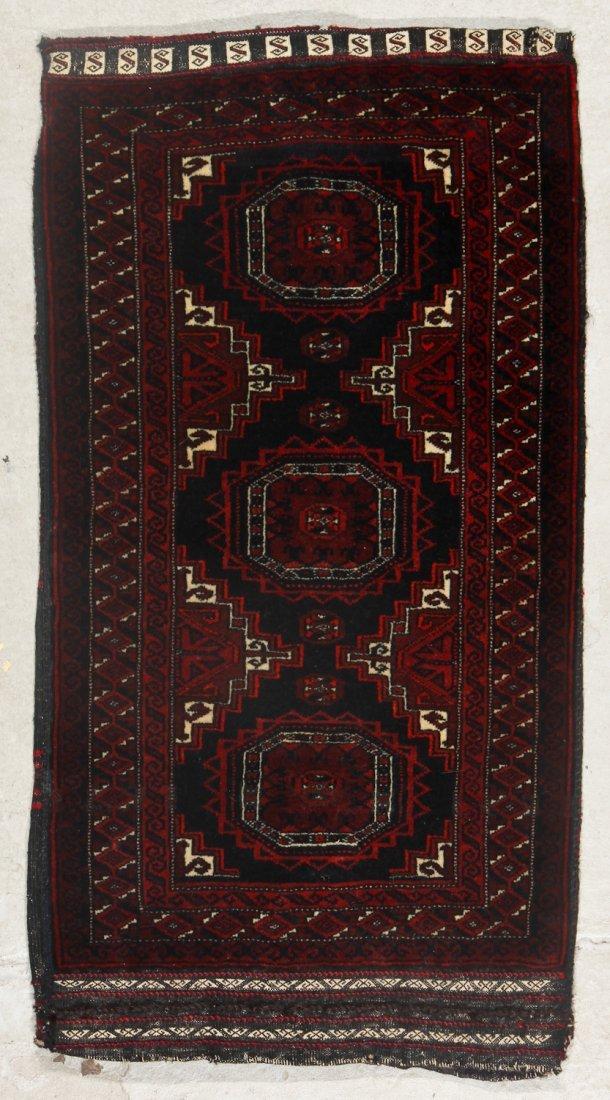 2 Old Afghan Beluch Rugs - 3