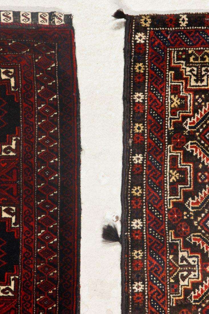 2 Old Afghan Beluch Rugs - 4