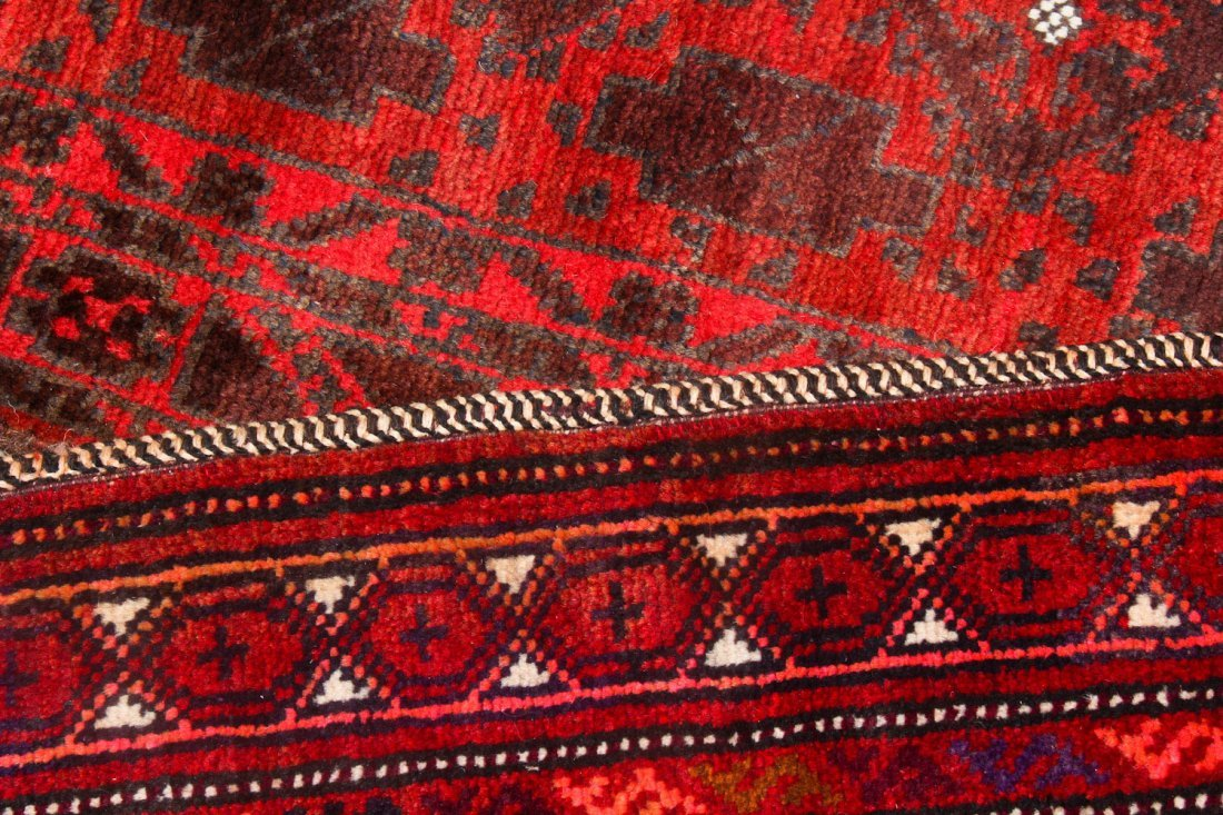 5 Vintage Afghan Small Rugs/Trappings - 4