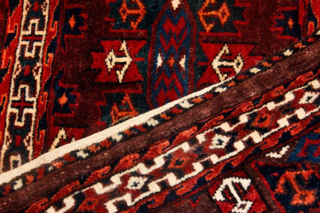 2 Semi-Antique Turkmen Yomud Torba/Trappings - 4