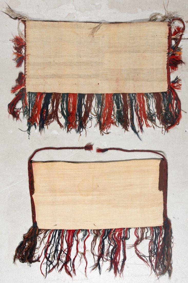 2 Semi-Antique Turkmen Yomud Torba/Trappings - 5