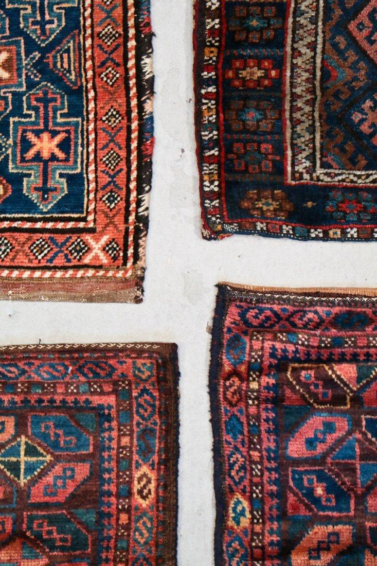 4 Semi-Antique West Persian Bag Faces - 4