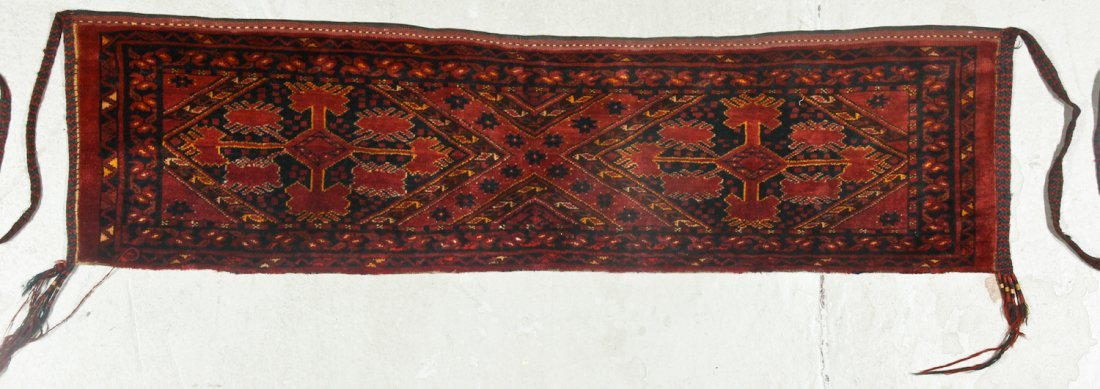 2 Old Turkmen Beshir Trappings - 2