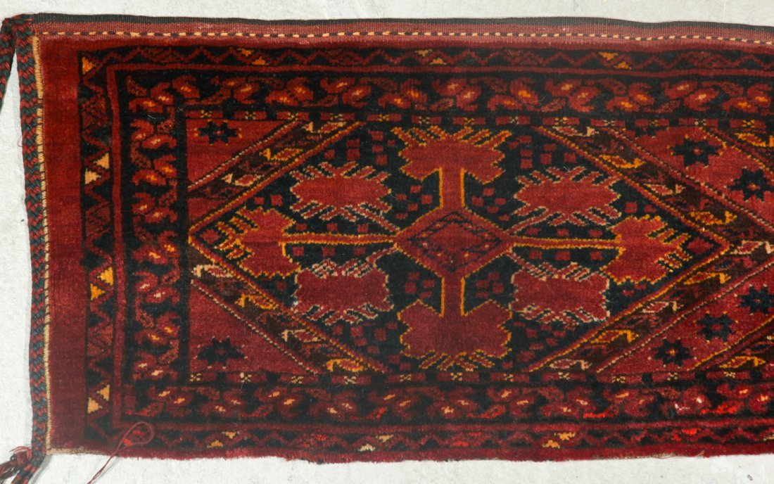 2 Old Turkmen Beshir Trappings - 4