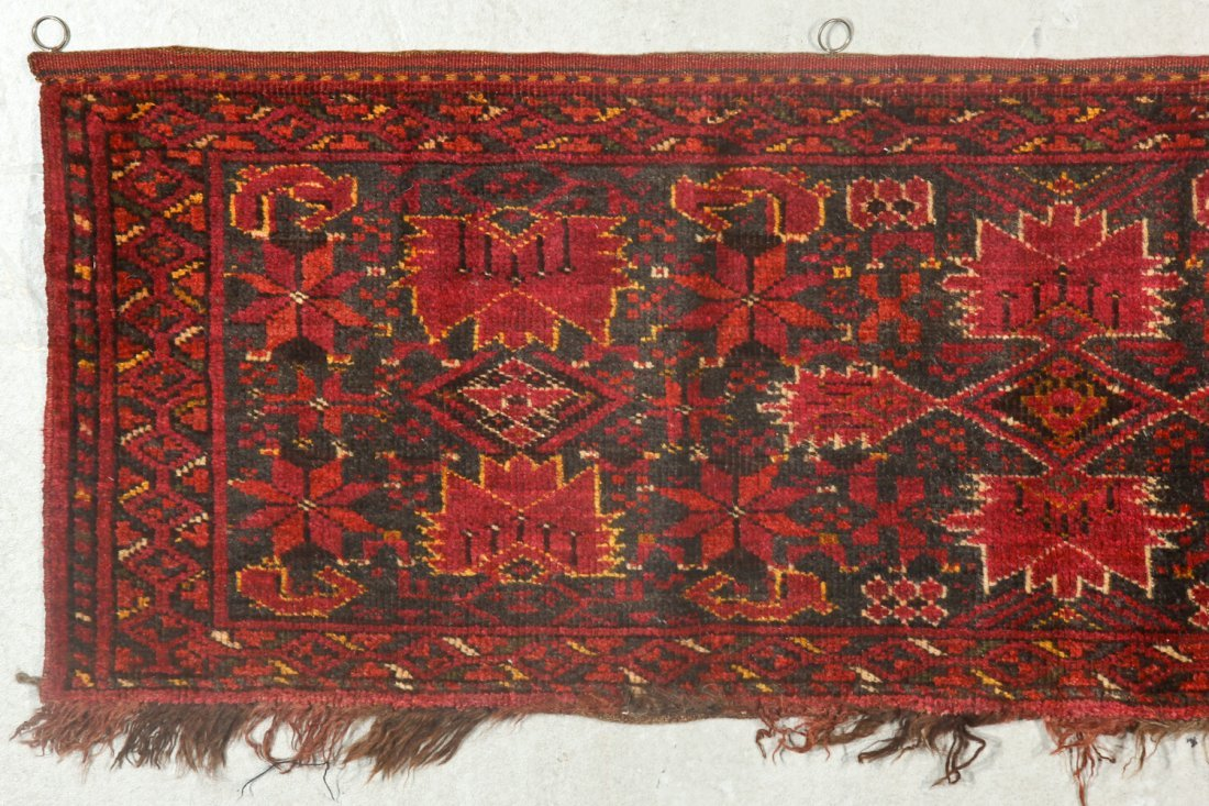 2 Old Turkmen Beshir Trappings - 5