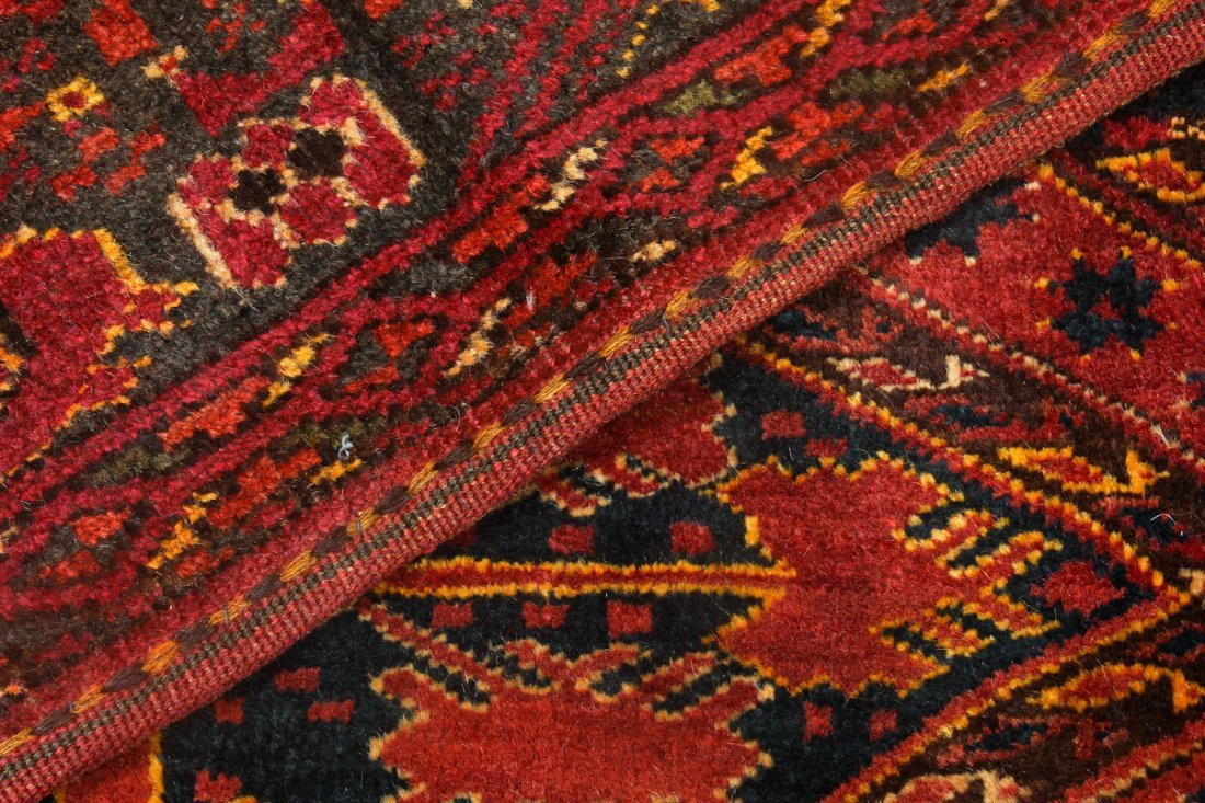 2 Old Turkmen Beshir Trappings - 6
