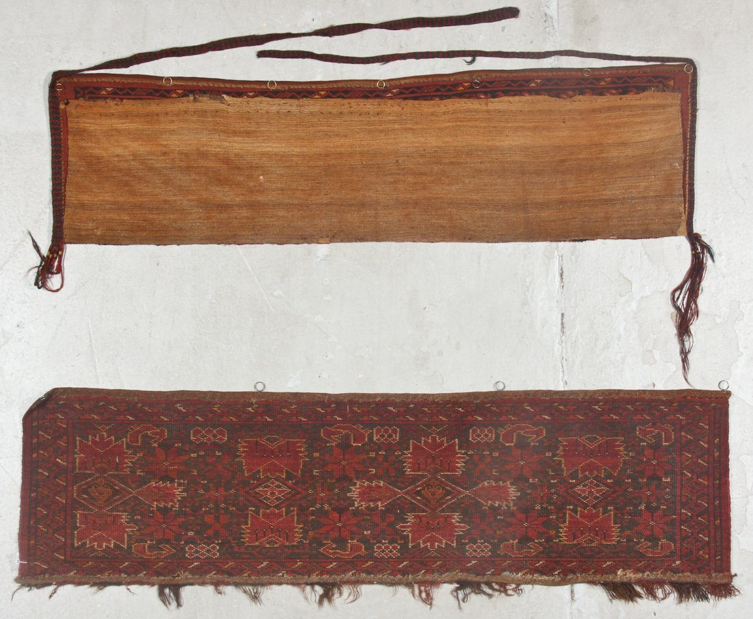 2 Old Turkmen Beshir Trappings - 7