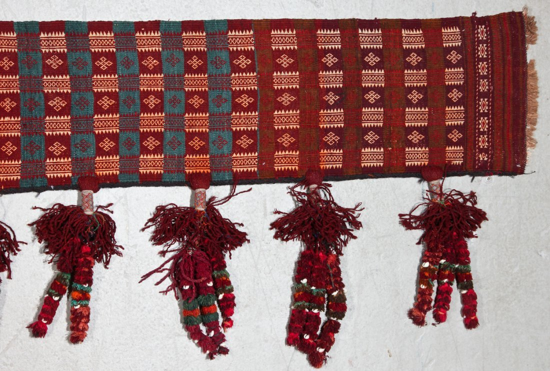 Old Central Asian Kilim Hanging - 2