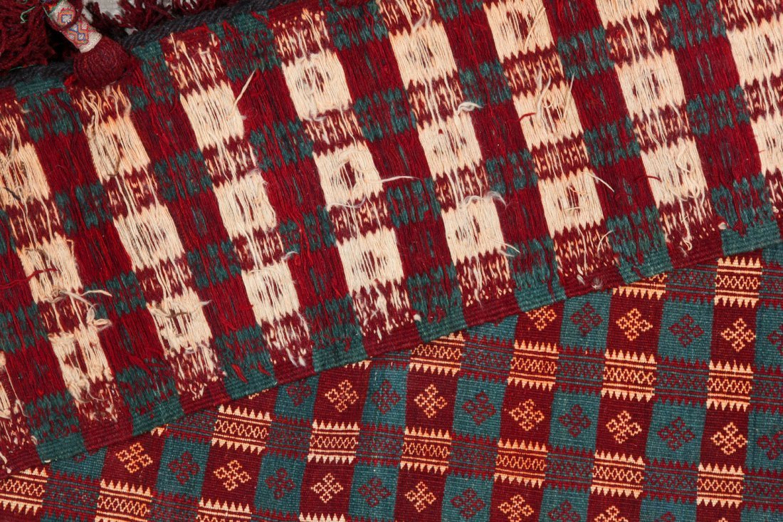 Old Central Asian Kilim Hanging - 3