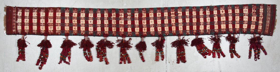 Old Central Asian Kilim Hanging - 5