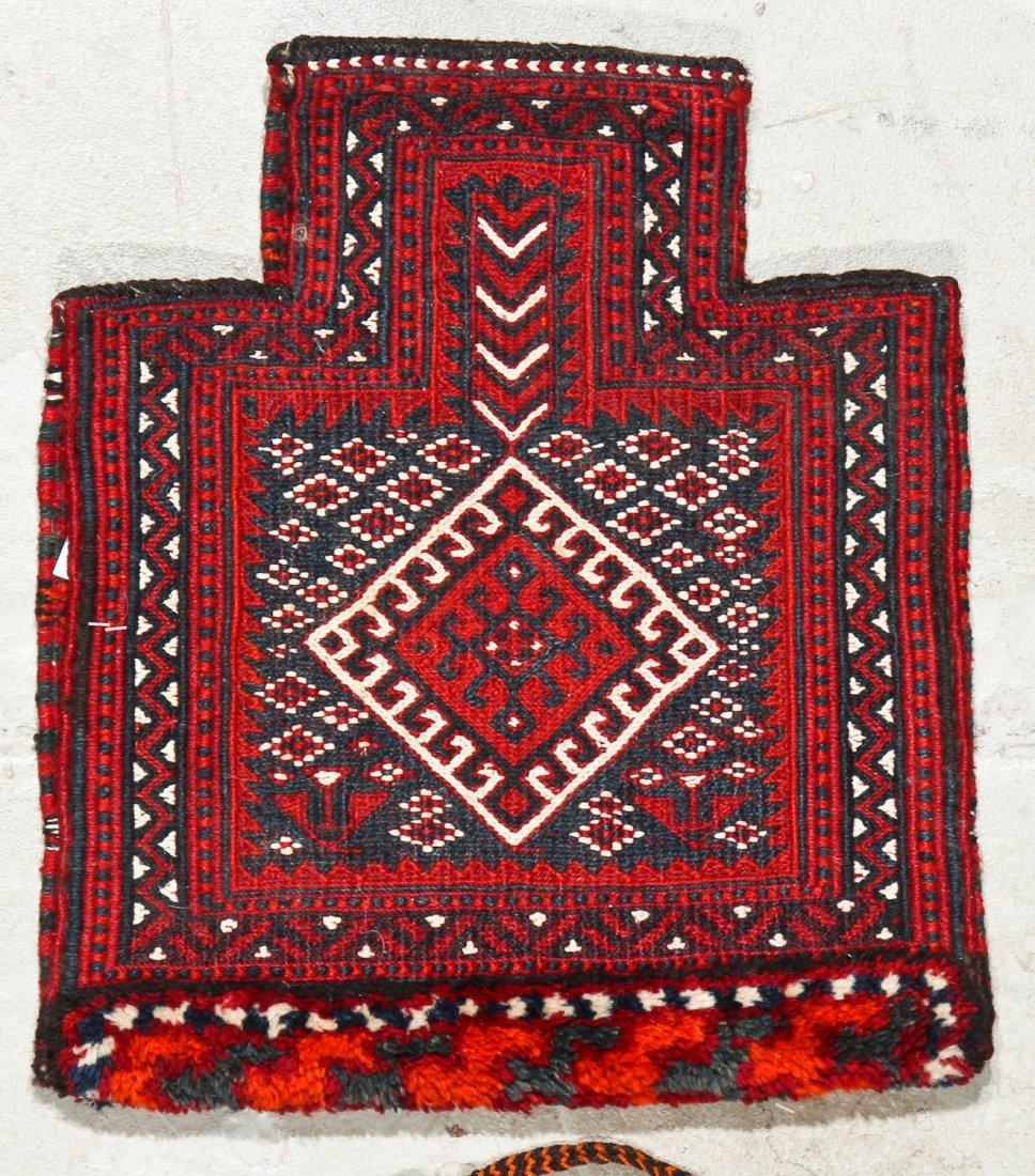 3 Semi-Antique West Persian Sumak Trappings - 3