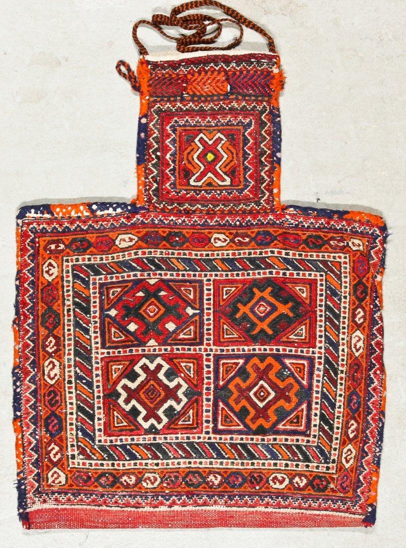 3 Semi-Antique West Persian Sumak Trappings - 4